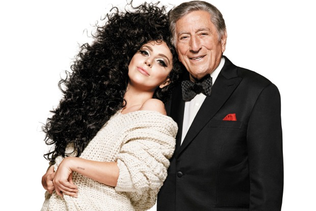 H&M Holiday 2014 - PRESS ART - Lady Gaga & Tony Bennett - HANDOUT