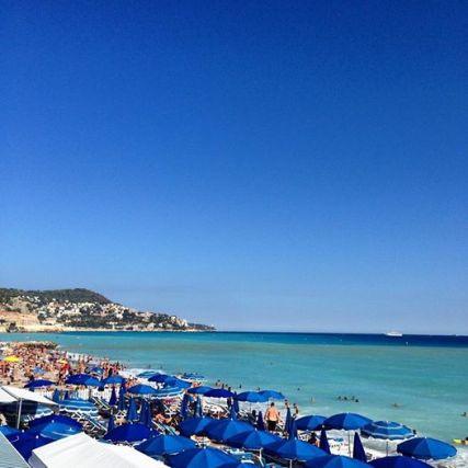 Praia de Nice - Linda!